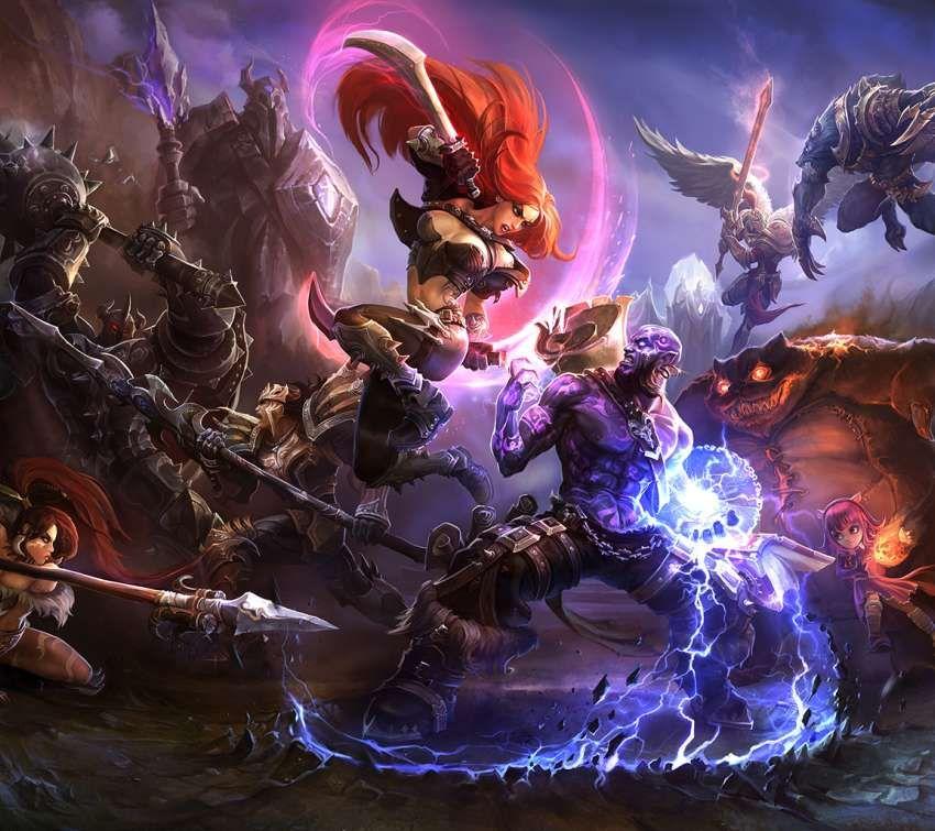 League Of Legends Wallpapers Or Desktop Backgrounds Art Game