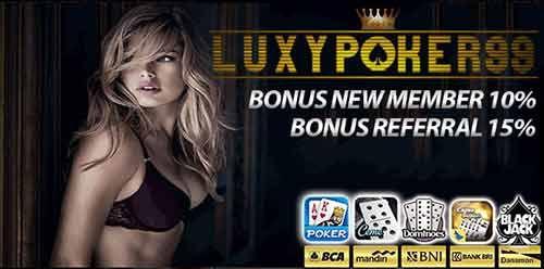 Masih cari dimana cara gabung situs poker online banyak bonus ? ya tentu saja di luxypoker99 merupakan sebuah situs poker online indonesia banyak bonus.