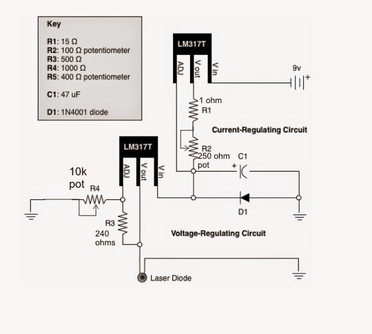 currentandvoltagecontrolllaserdrivercirciut png 540 486 rh pinterest com Electronic Projects Circuit Diagrams Voltage Regulator Module