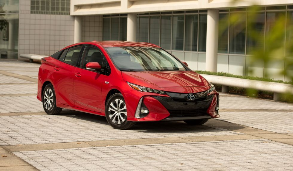 2021 Toyota Prius Prime Review Pricing And Specs Toyota Prius Prime Toyota Prius Hybrid Toyota Prius