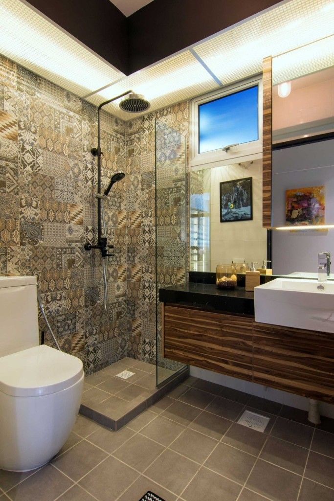 Photos of modern bathrooms 43 ideas from the best designers shower remodeling