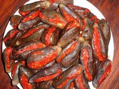 طريقة تحضير المكدوس السوري الباذنجان المخلل 13022517087 Bmp Lebanese Recipes Middle Eastern Recipes Food