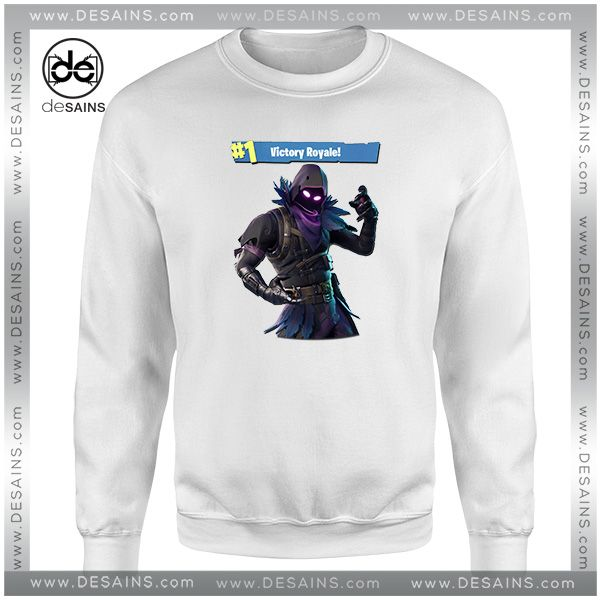 8e7beac35570 Cheap Graphic Sweatshirt Fortnite Raven Victory Royale   Price   24.00 Gift  Custom Tee Shirt Dress     Desains  Tees  Shirt  Dress