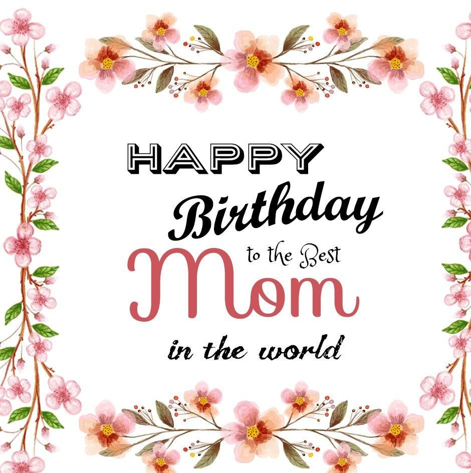 Superb Happy Birthday Mom Quotes Images Wishes And Status With Images Personalised Birthday Cards Paralily Jamesorg