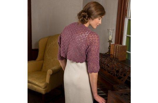 Premier Yarns Downton Abbey® Edwardian Lace Shrug ...