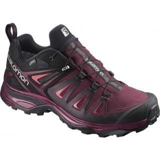 Wandelschoen X Ultra 3 Gtx Women Tawny Port Paars Shoes Paars Winter