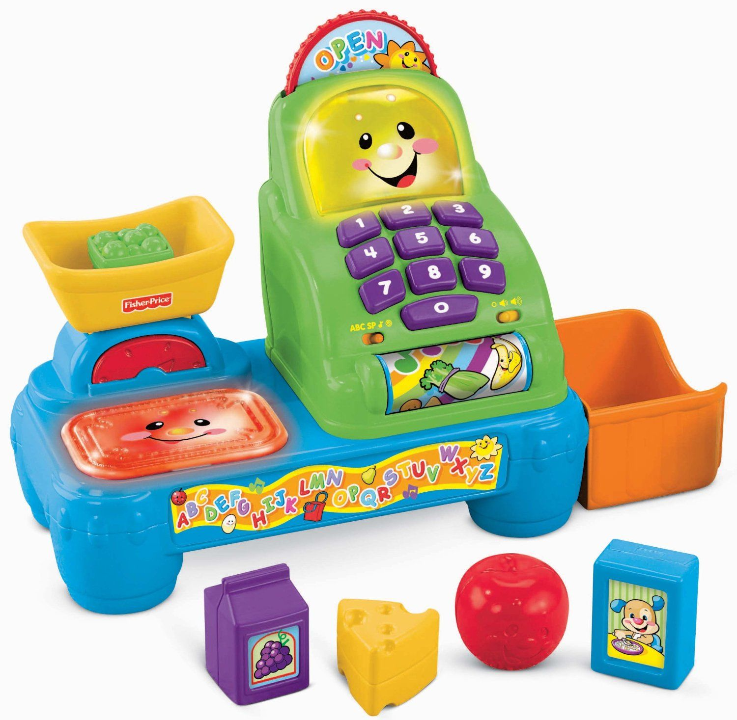 Fisher Price Cash Register Toy For Babies 1 Year Old Girl Gifts Baby Block