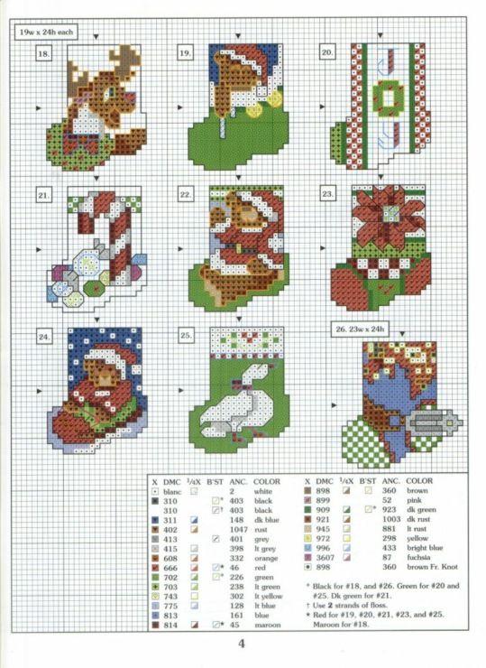 Christmas Stockings, page 3/3 - plastic canvas | snowmen | Pinterest ...