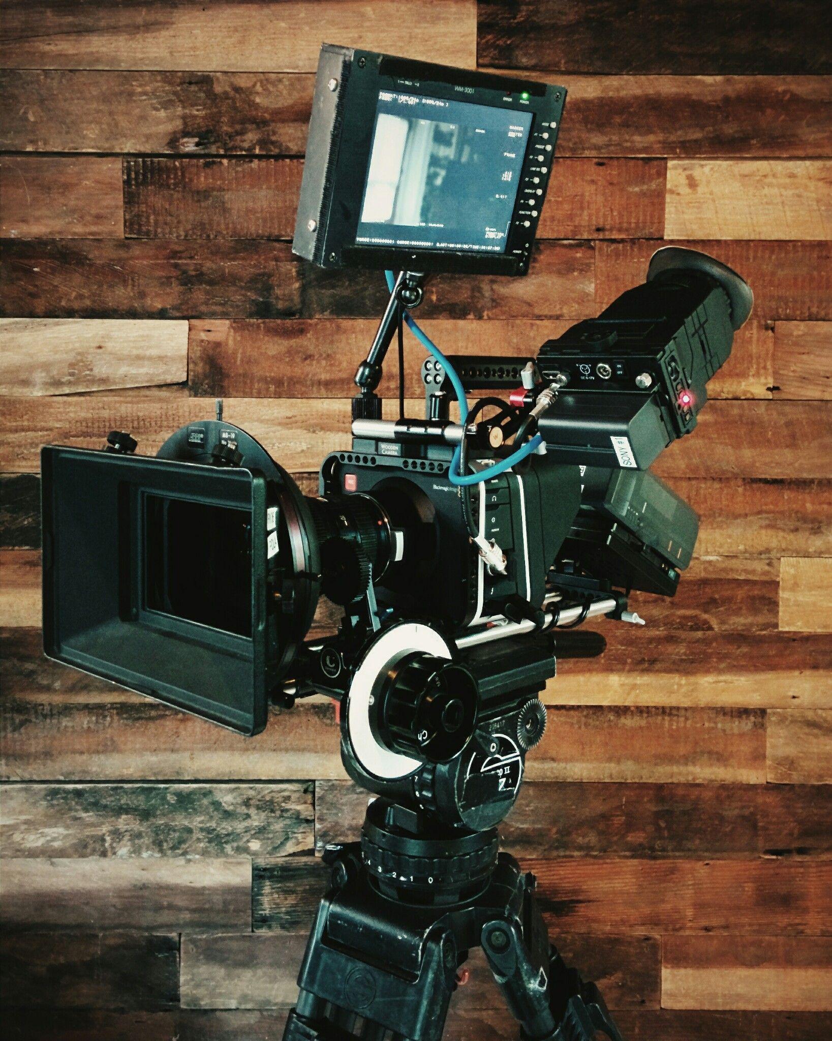 2 5k Black Magic Cinema Camera Matthew Williams Director Of Photography Canon Ef Lenses Wooden Camera Rig Cineroid Evf4rvw W Retina Display Evf Woo