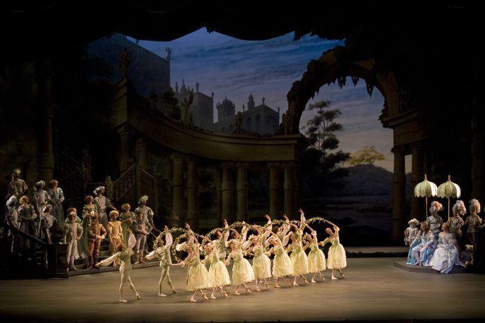 The Royal Ballet La Bella Durmiente En El Gran Teatre Del Liceu De Barcelona Bella Durmiente Ballet Durmientes