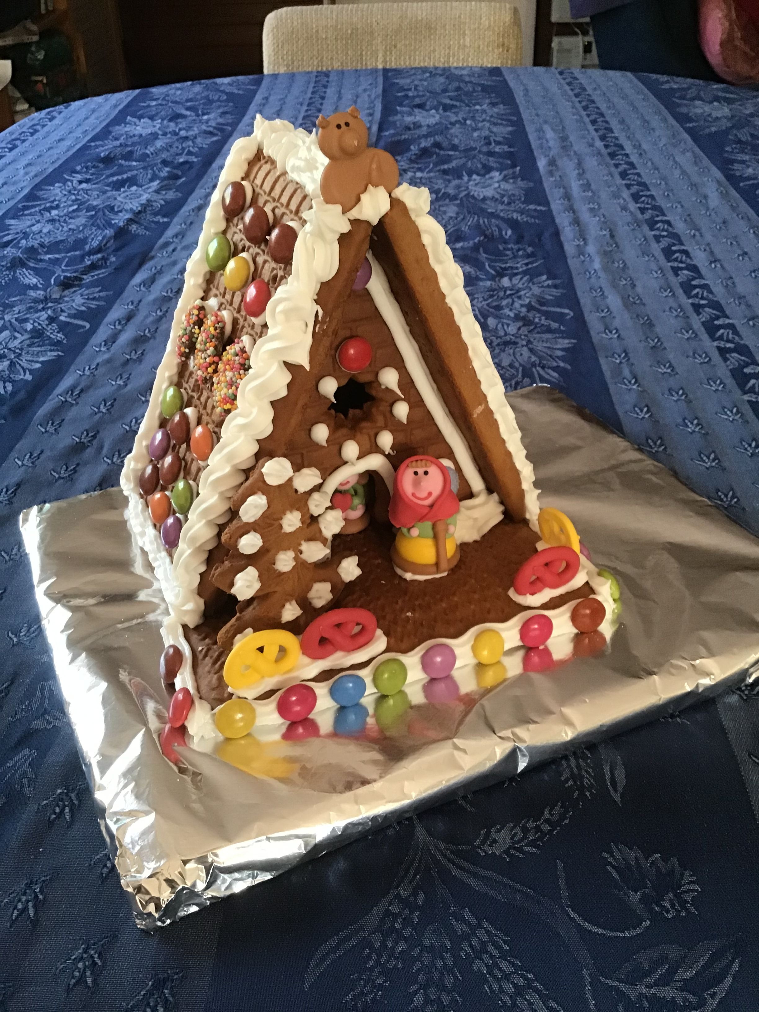 First gingerbread house attempt ever Gingerbread house