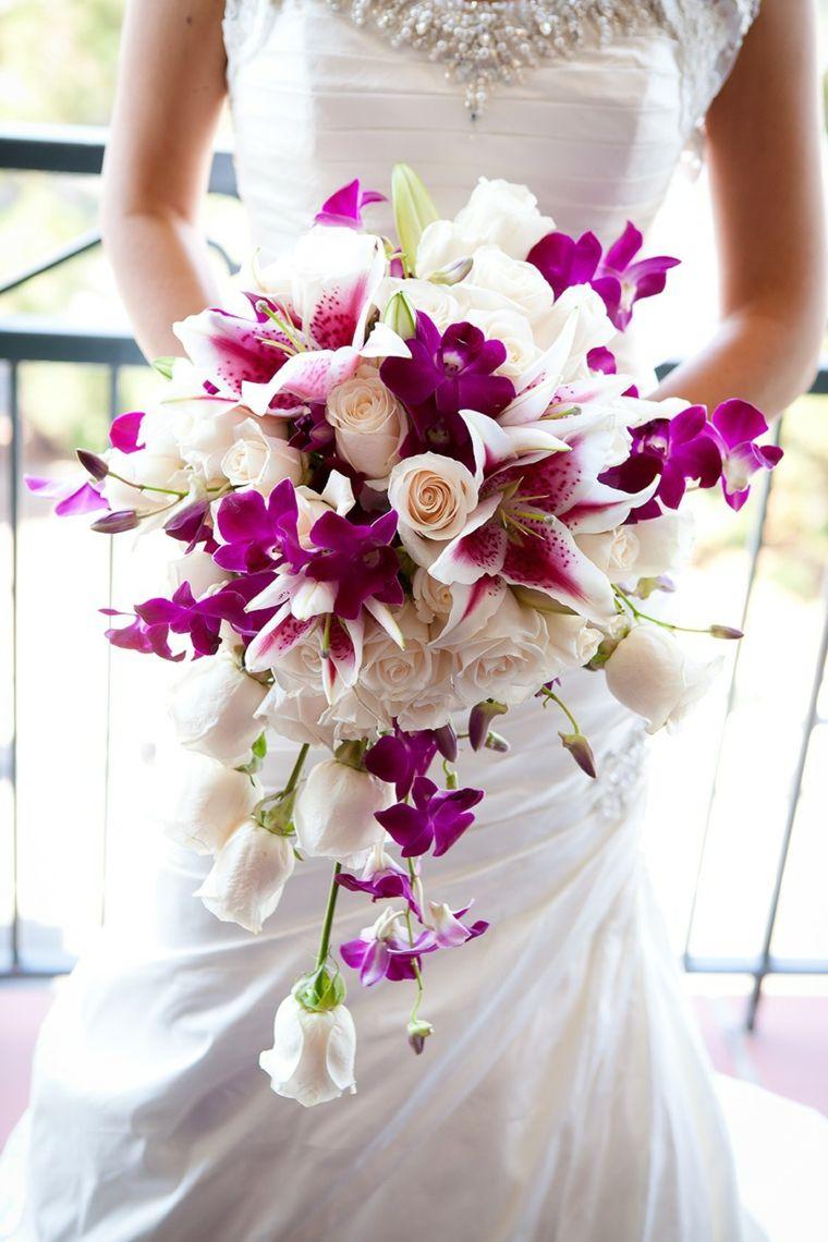 Bouquet Cascata Sposa.1001 Idee Di Bouquet Sposa Per Scegliere Un Elemento