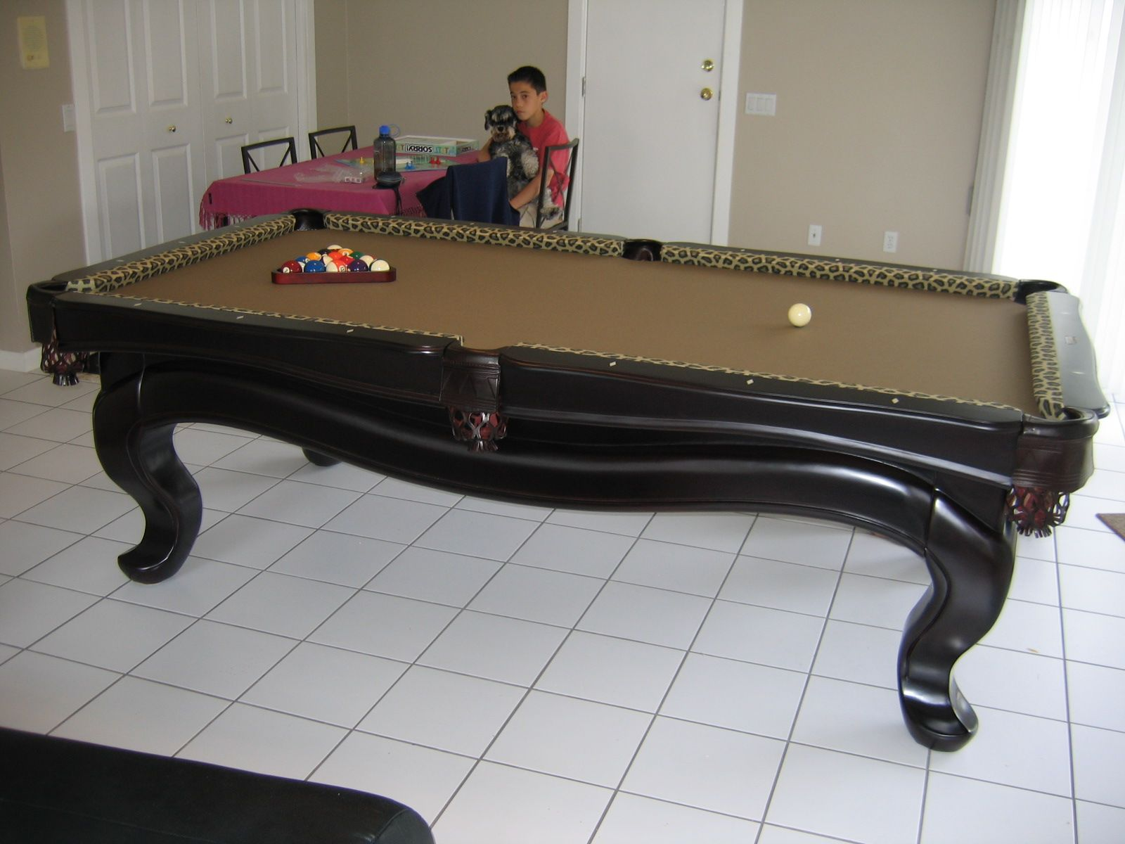 Thank You For The Help In Selecting Our Newest Addition To Our Games - Pool table help