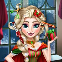 Elsa Christmas Real Haircuts With Images Frozen Games Disney Frozen Elsa Frozen Christmas