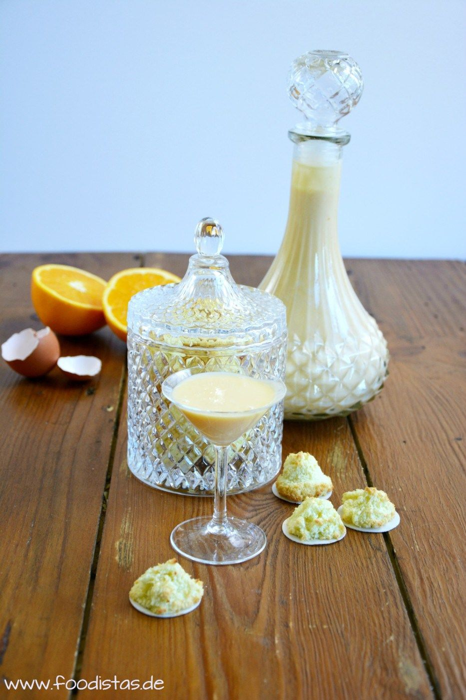 Cremiger Eierlikör mit einem hauch Orange | foodistas.de
