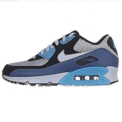 Nike Air Max 90 Essential Mens 537384-414 Squadron Blue Running ...