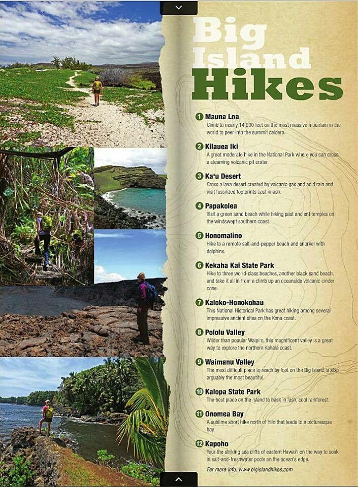 Big island hikes | Big Island Baby! | Pinterest | Big ...