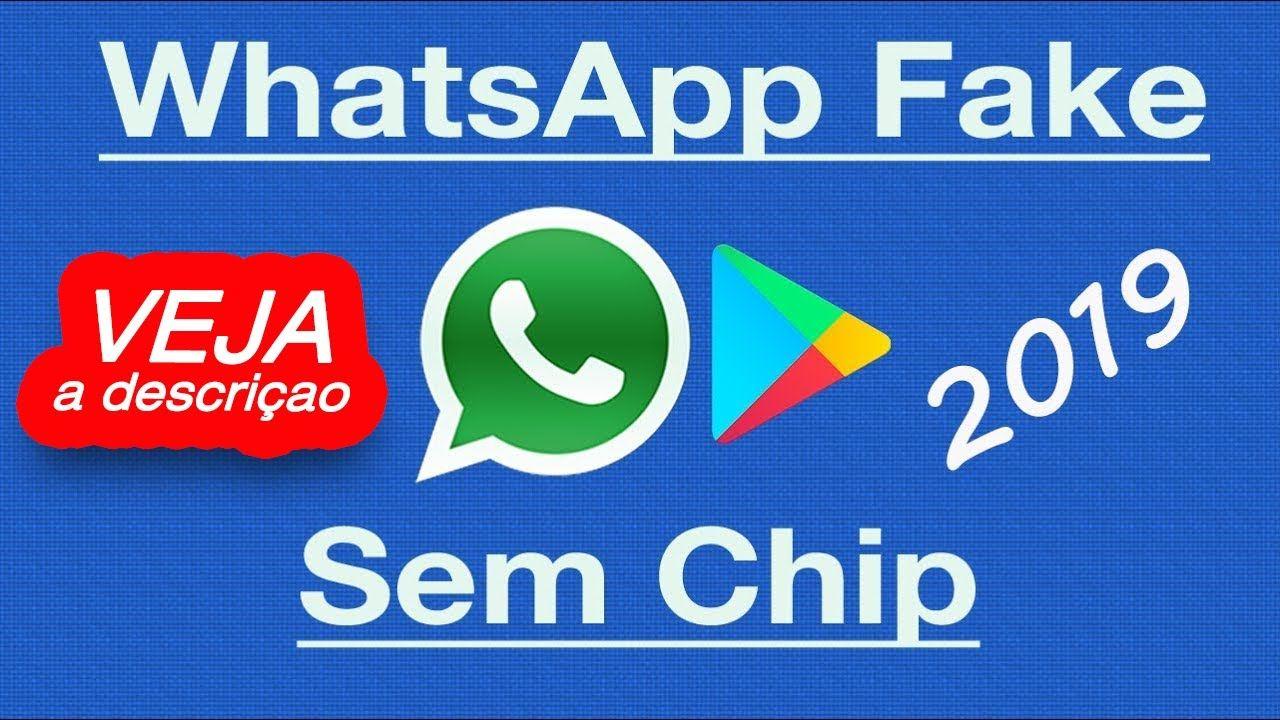 Como Criar Numero Fake Para Usar No Whatsapp Metodo 2019 Passo A