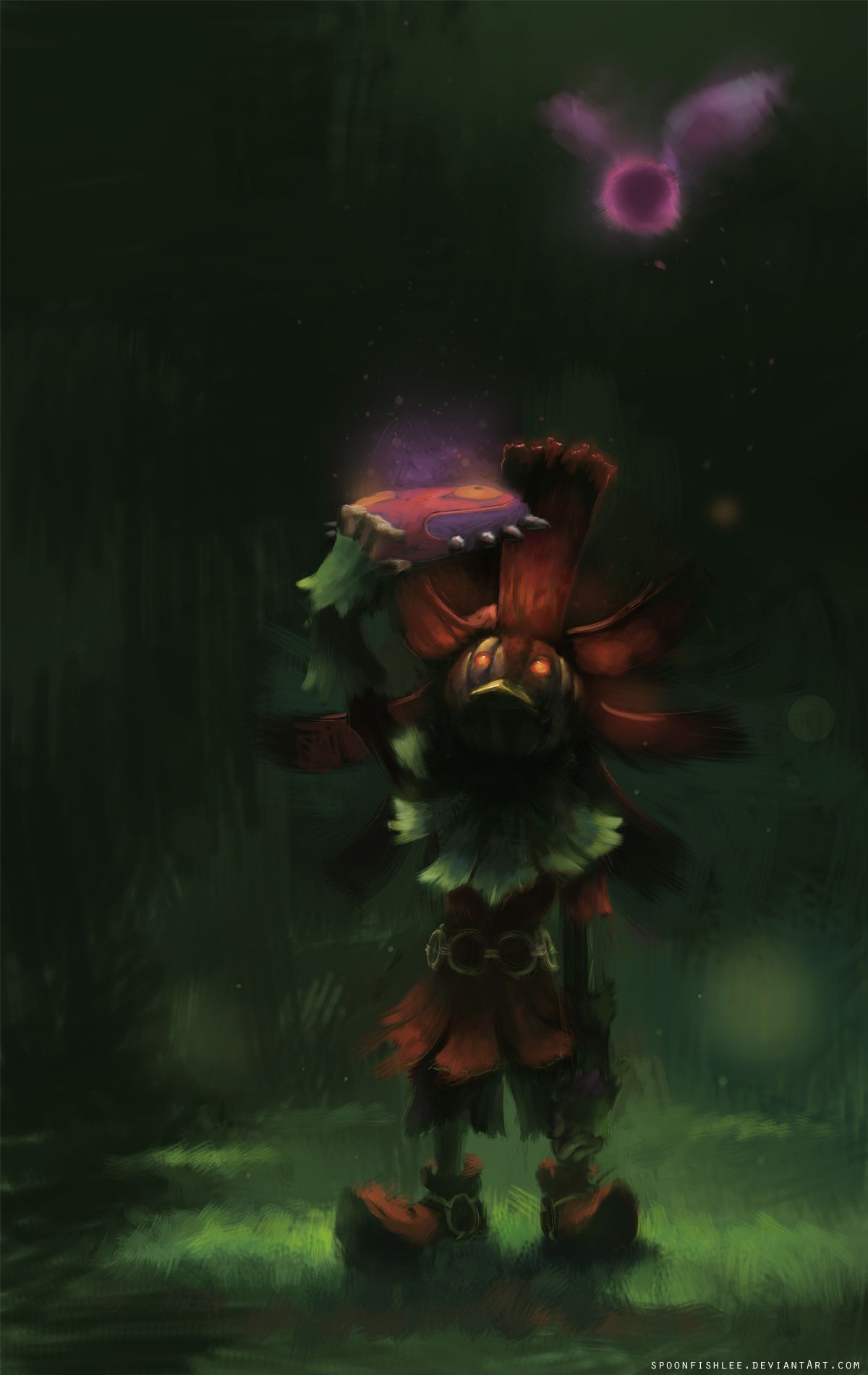 Skull Kid Majoras Mask By SpoonfishLeedeviantart On DeviantART