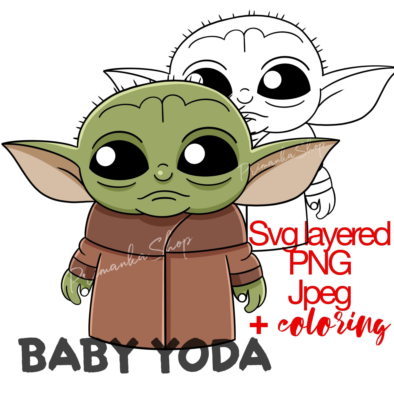 Baby Yoda Yoda Drawing Star Wars Painting Yoda Art