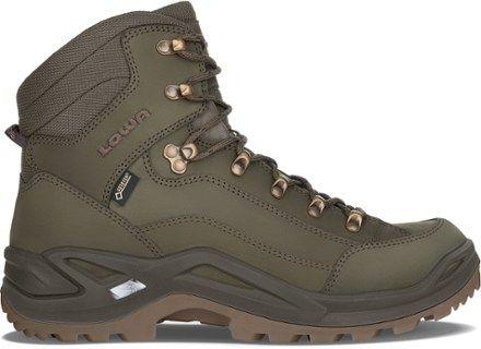 Photo of Lowa Men's Renegade GTX Mid Hiking Boots Basil 9