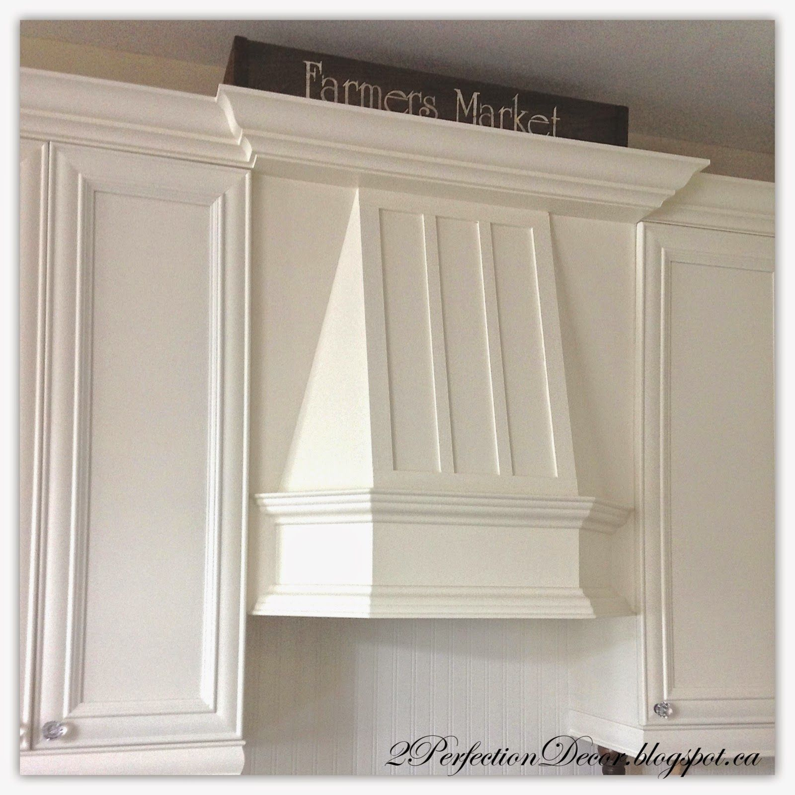 Painted French Country Kitchen Reveal Cream Cabinet Adding Wood Trim Decorative Hood Fan Ide French Country Kitchen Country Kitchen Nautical Home Decorating