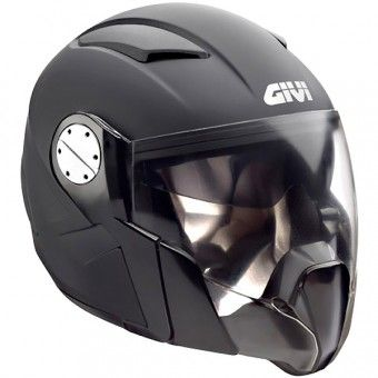 casque transformable givi xplus cn900 noir mat cascos helmets. Black Bedroom Furniture Sets. Home Design Ideas