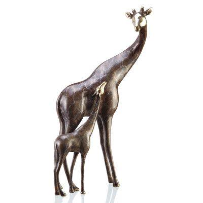 Design Toscano Gigi The Garden Giraffe Statue U0026 Reviews | Wayfair