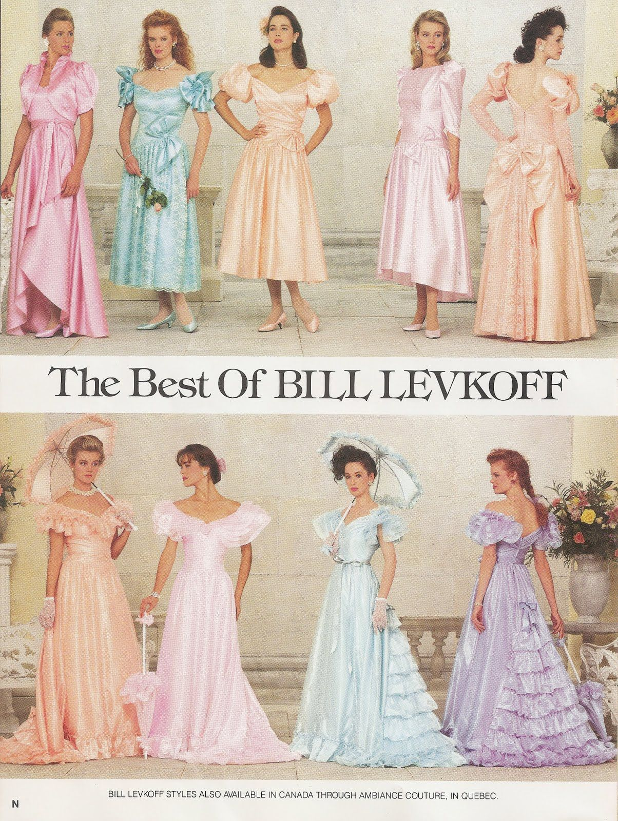 Bill levkoff dresses from the s bridal style antique