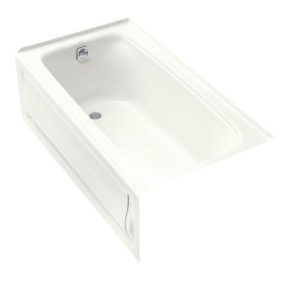 Kohler Bellwether 60 In X 30 In Ada Cast Iron Alcove Bathtub