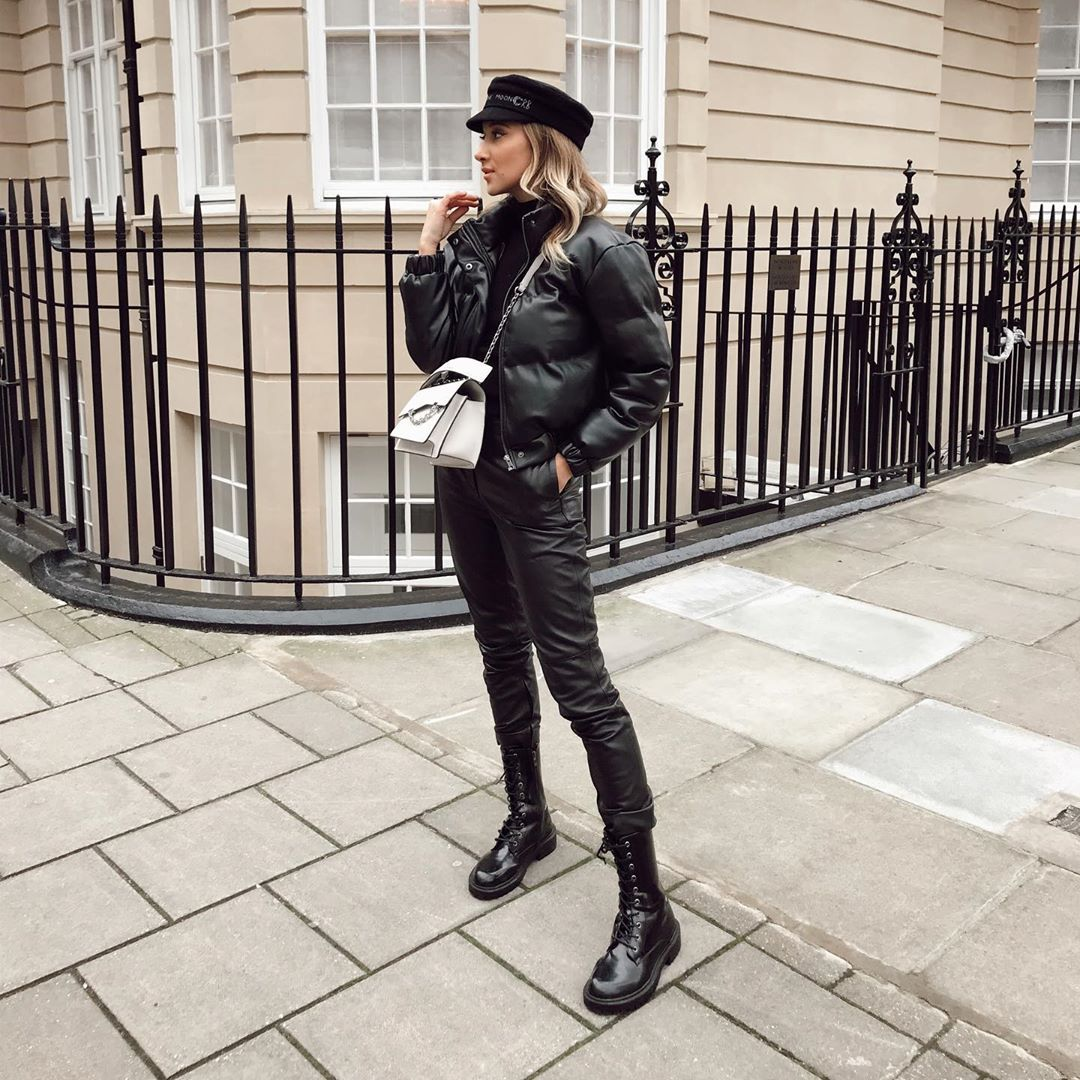 """Gabriele Gzimailaite on Instagram: """"This is a rainbow in black💣 . . . . #zara #ootdsubmit  #outfitdiaries #styletips #stylegram #fashionpost #todaysoutfit #ootdshare #mylook…"""""""
