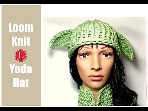 Yoda Hat Pattern - LoomaHat.com   telares   Pinterest   Telar y Creativo