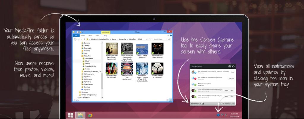 MediaFire Launches Dropbox Like app for Desktop, Offering
