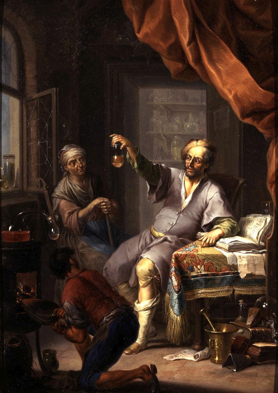 Franz Christophe Janneck Medical Alchemist Oil Copper