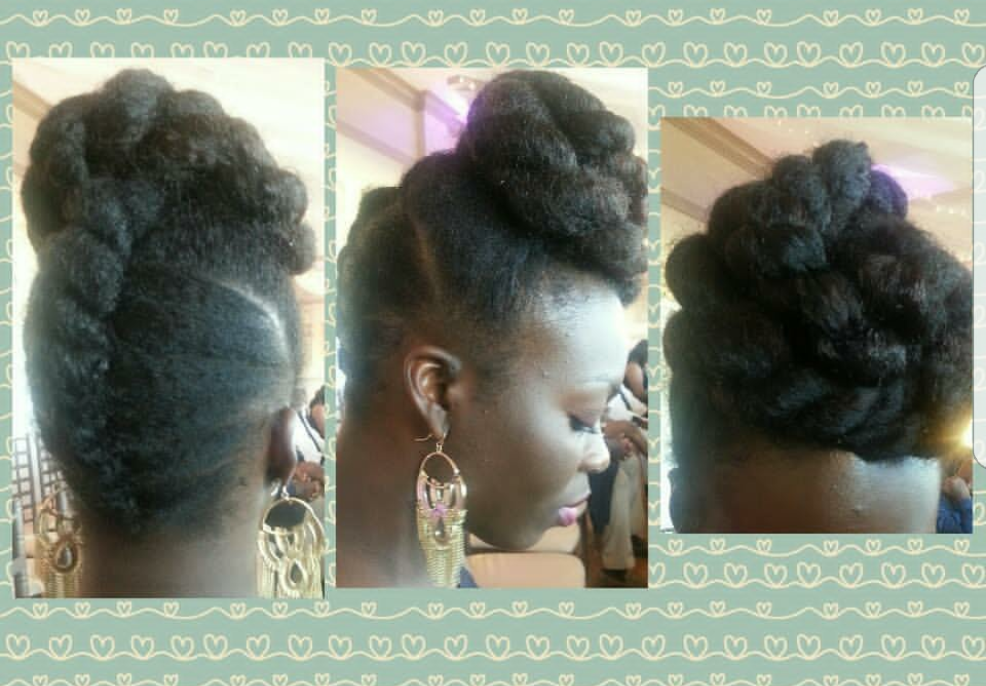 Pin On Natural Hairstyles For Black Women