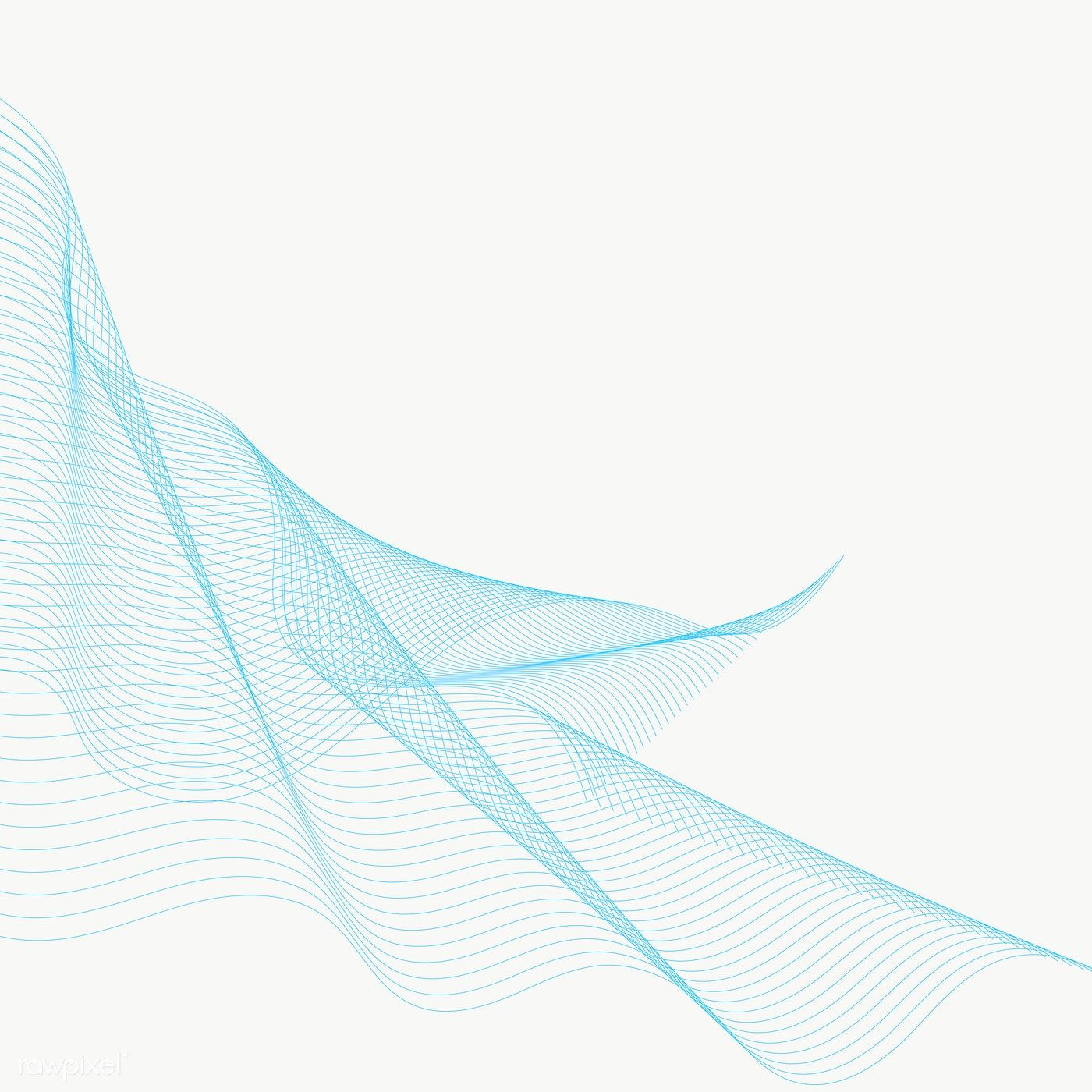 Blue Swirly Abstract Line Design Element Free Image By Rawpixel Com Nunny Abstract Lines Design Element Line Design