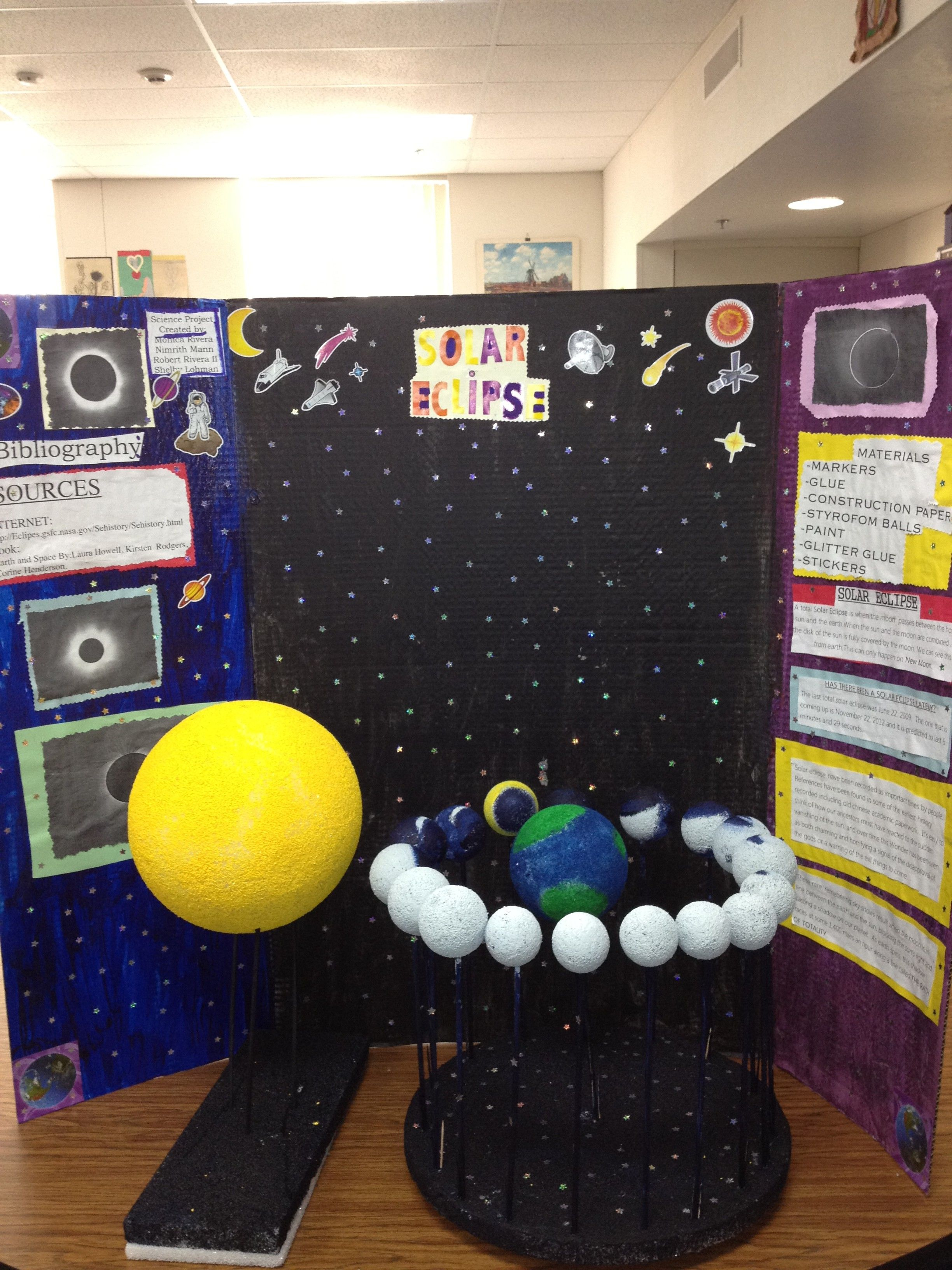 Pin By Atieknya Agung On Eclipse Project Science Projects Science