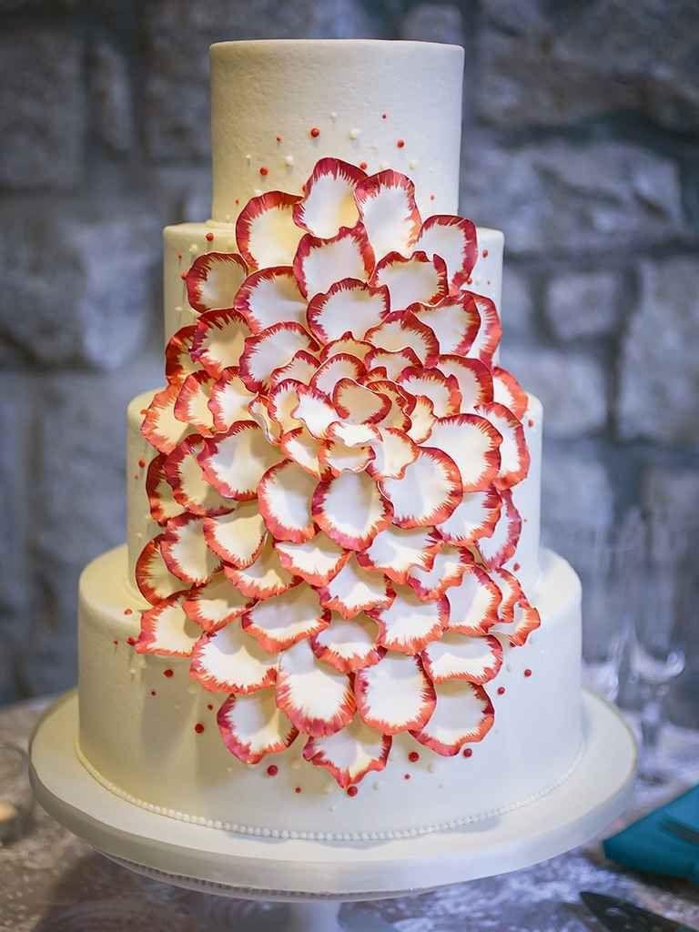 15 Unique Wedding Cake Ideas | Fondant, icing and cake decorations ...