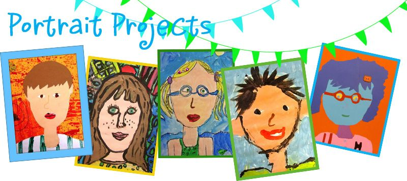 Fun with Portraits II Guidebook   Homeschool Art   Art