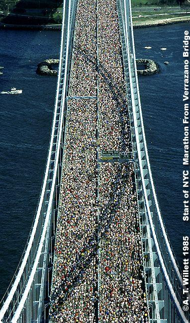 NYC marathon - place to go