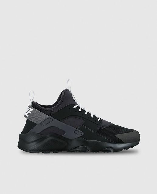 e62700f1e359d Zapatillas deportivas de hombre Nike Air Huarache Run Ultra negras ...