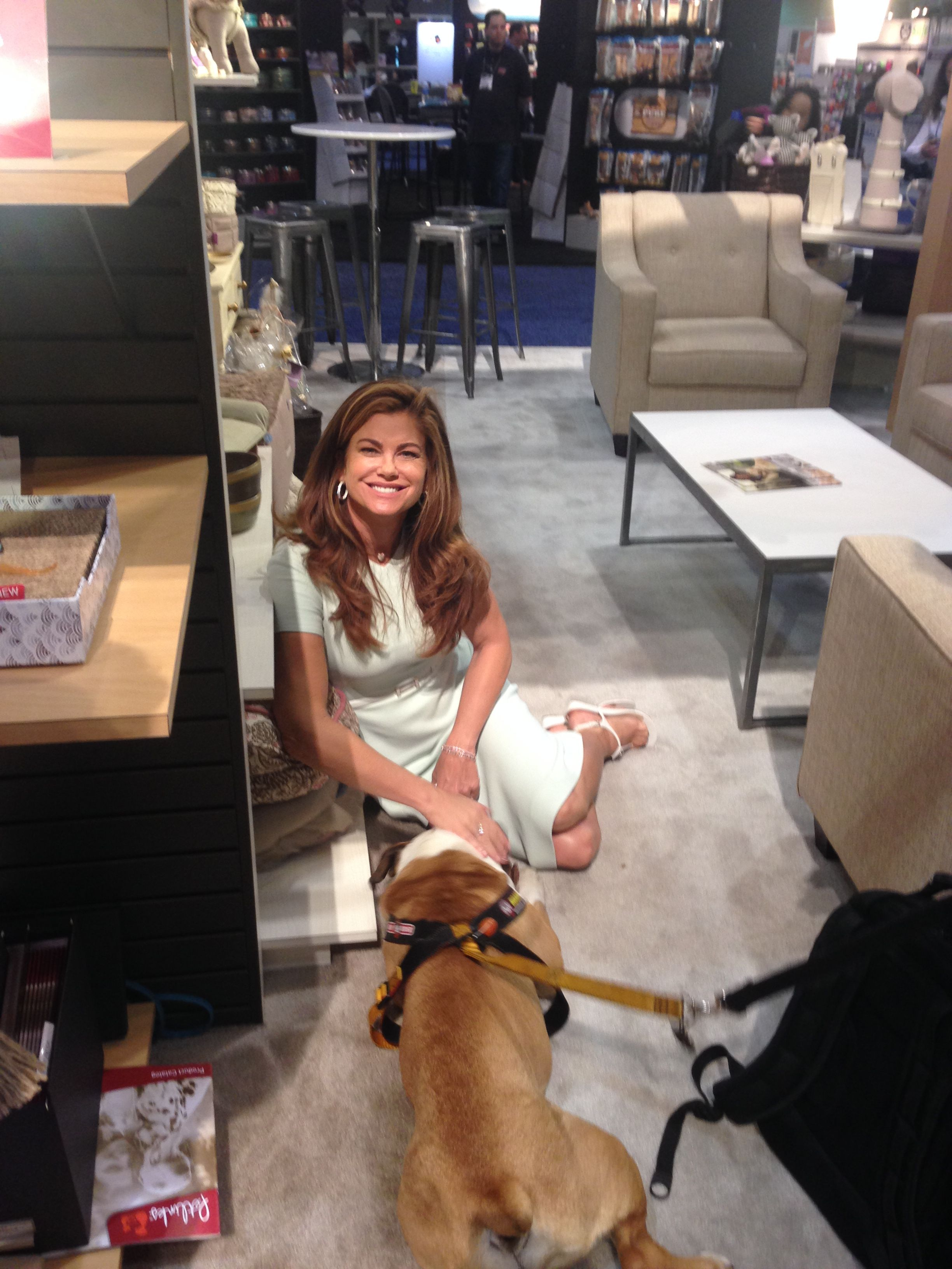 I Met Kathy Ireland At The Global Pet Expo And Showed Her The