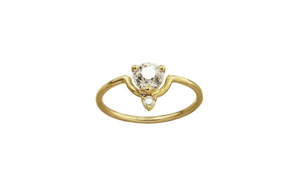 Medium Old European Diamond Ring - Available at ABC Carpet & Home #engagement #ring #rings