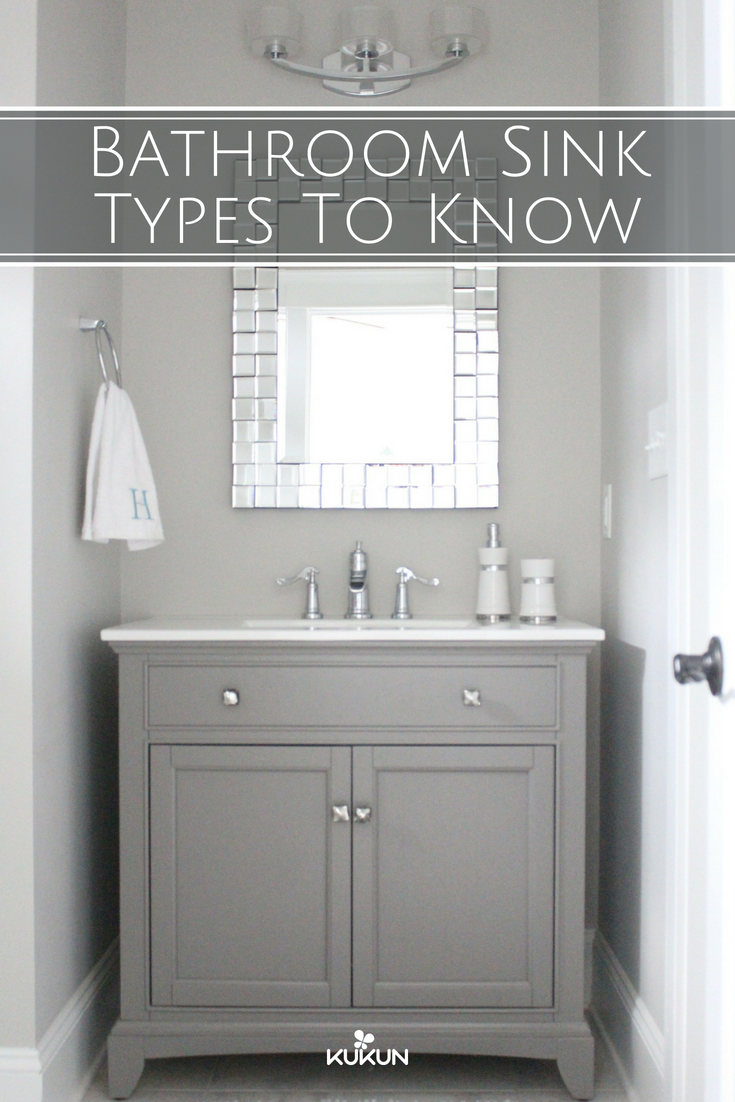34+ Bathroom sink types info