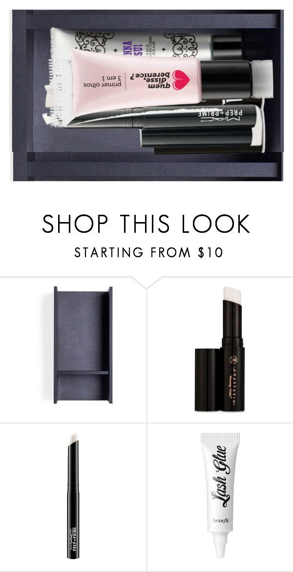 """Sem título #284"" by paradapermitida on Polyvore featuring moda, Anastasia Beverly Hills, MAC Cosmetics, Anna Sui e Benefit"