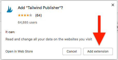 How To Install The Tailwind Extension For Chrome Chrome Web