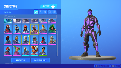 Fortnite Acc0unt Og Rares Skull Trooper For Rent For 7 Days Only For Pc Ebay Merken