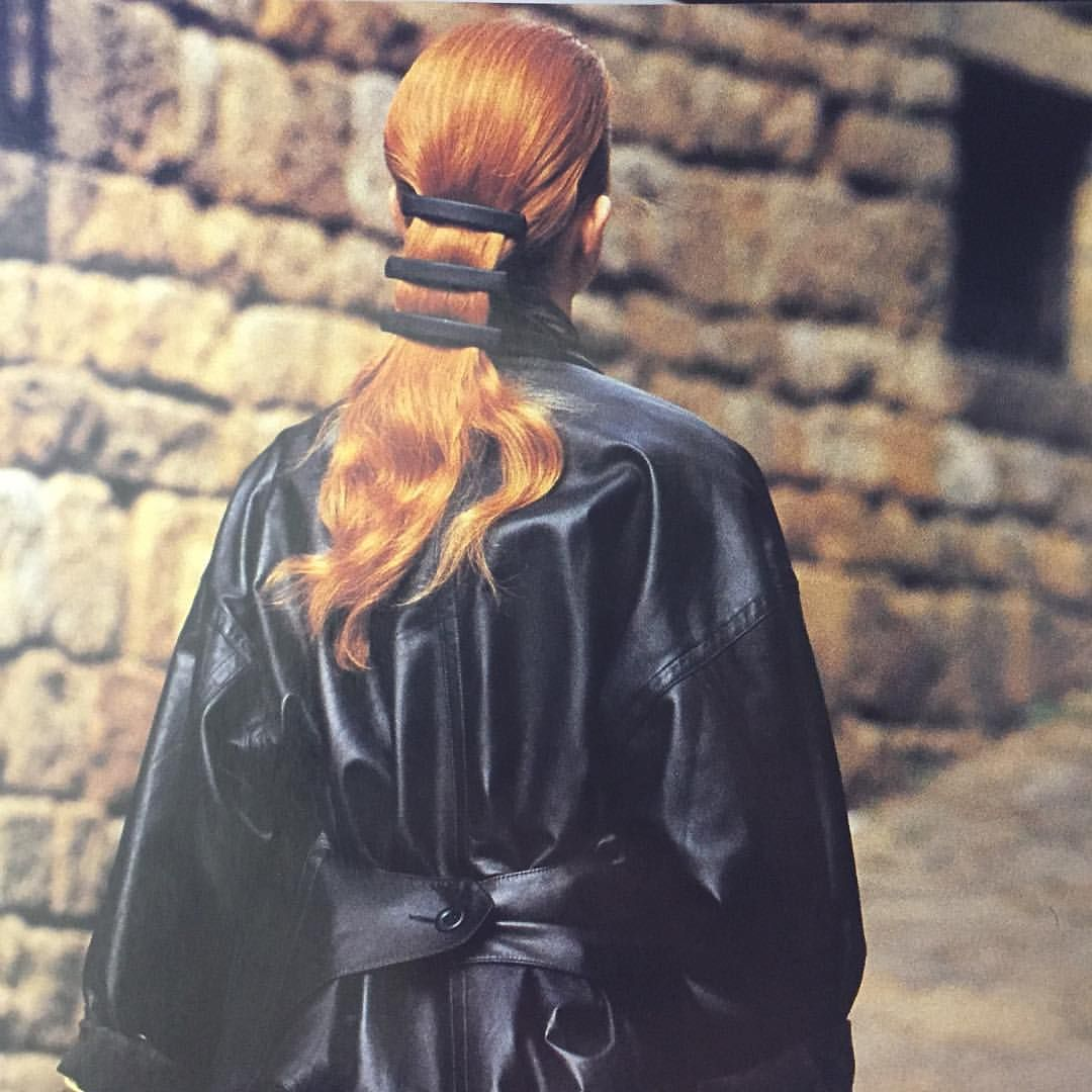 hair - Elle magazine - 80s