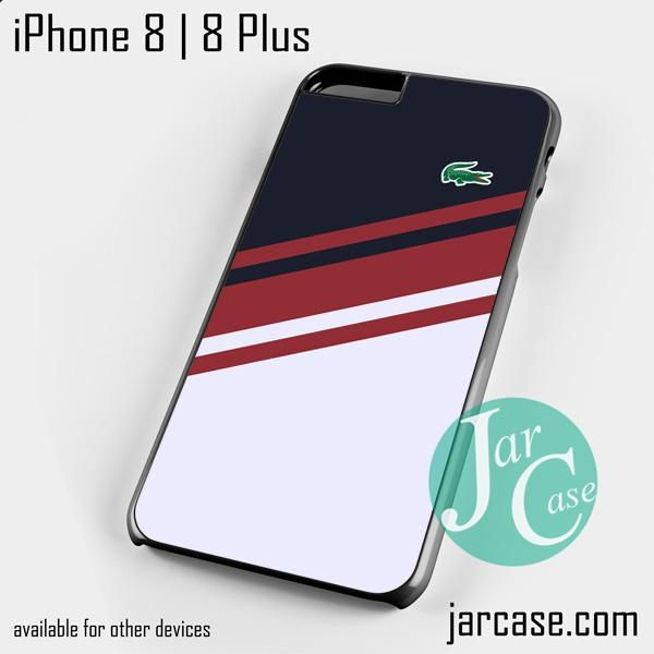 coque iphone 8 plus lacoste