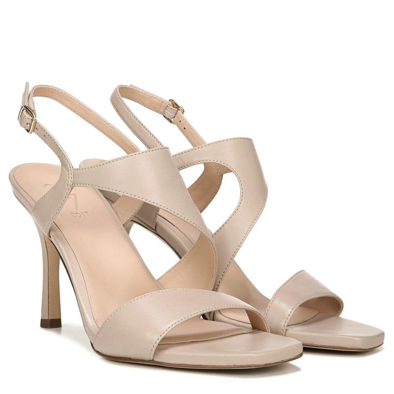 Details about New Naturalizer Metallic Rose Gold Ankle Strap Sandals Ladies Size 9.5